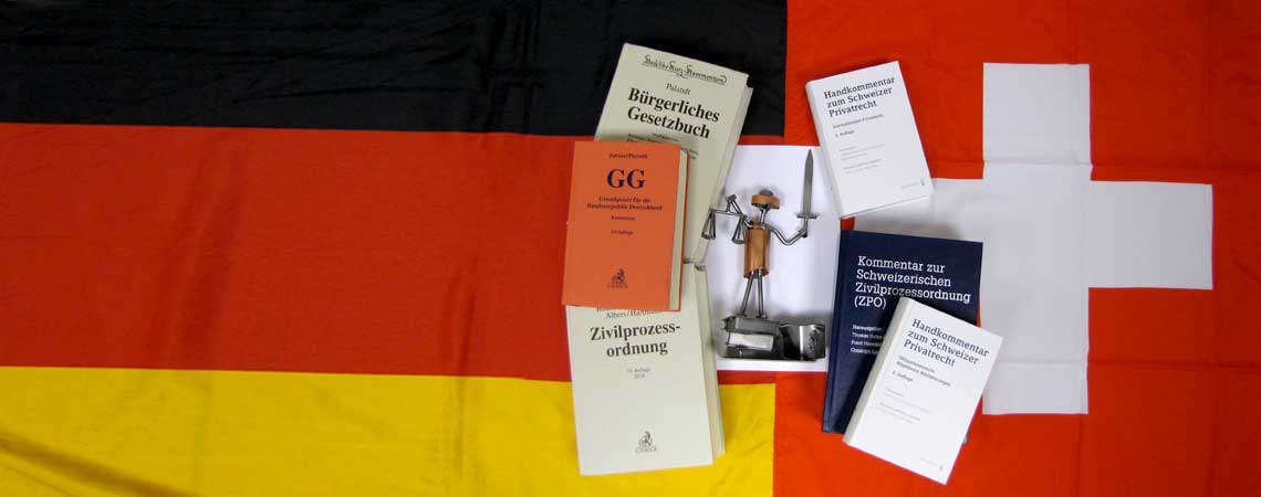 DEUTSCHLAND / SCHWEIZ --- GERMANY / SWITZERLAND